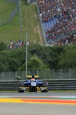 World © Octane Photographic Ltd. Saturday 21st June 2014. GP2 Race 1 – Red Bull Ring, Spielberg - Austria. Felipe Nasr - Carlin. Digital Ref : 0997LB1D2825