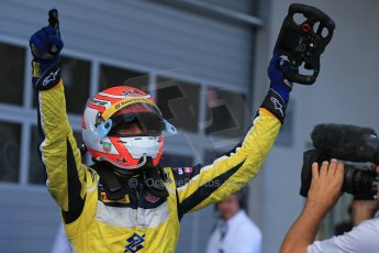 World © Octane Photographic Ltd. Saturday 21st June 2014. GP2 Race 1 – Red Bull Ring, Spielberg - Austria. Felipe Nasr - Carlin. Digital Ref : 0997LB1D3542