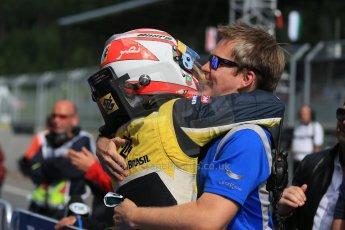 World © Octane Photographic Ltd. Saturday 21st June 2014. GP2 Race 1 – Red Bull Ring, Spielberg - Austria. Felipe Nasr - Carlin. Digital Ref : 0997LB1D3552