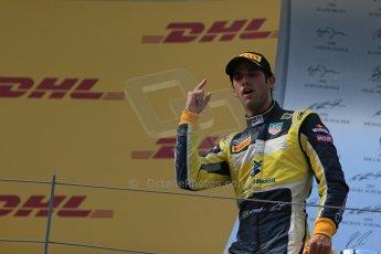 World © Octane Photographic Ltd. Saturday 21st June 2014. GP2 Race 1 – Red Bull Ring, Spielberg - Austria. Felipe Nasr - Carlin. Digital Ref : 0997LB1D3586