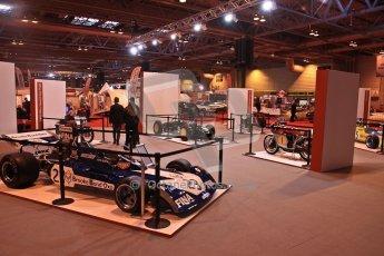 World © Octane Photographic Ltd. Autosport International Show NEC Birmingham, Thursday 9th January 2014. John Surtees 50th anniversary display. Digital ref: 0878cj7d0050
