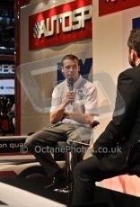 World © Octane Photographic Ltd. Autosport International Show NEC Birmingham, Thursday 9th January 2014. Dean Stoneman. Digital ref: 0878cj7d0111