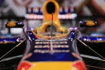World © Octane Photographic Ltd. Autosport International Show NEC Birmingham, Thursday 9th January 2014. Red Bull logo. Digital ref: 0878lb1d8943