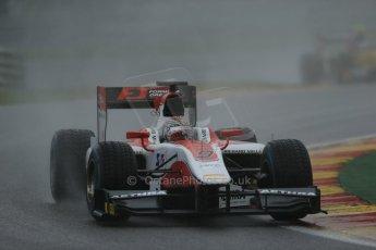 World © Octane Photographic Ltd. Friday Saturday 23rd August 2014. GP2 Race 1 – Belgian GP, Spa-Francorchamps. Takuya Izawa - ART Grand Prix. Digital Ref : 1086LB1D0326