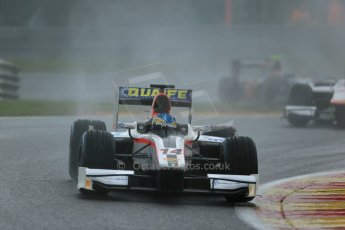 World © Octane Photographic Ltd. Friday Saturday 23rd August 2014. GP2 Race 1 – Belgian GP, Spa-Francorchamps. Adrian Quaife-Hobbs - Rapax. Digital Ref : 1086LB1D0548