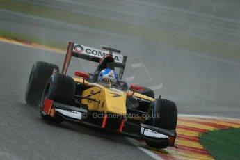 World © Octane Photographic Ltd. Friday Saturday 23rd August 2014. GP2 Race 1 – Belgian GP, Spa-Francorchamps. Jolyon Palmer – DAMS. Digital Ref : 1086LB1D0822