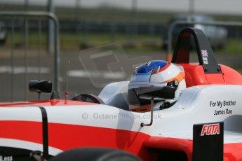 World © Octane Photographic Ltd. Cooper Tyres British Formula 3 (F3). Rockingham - Qualifying, Sunday 4th May 2014. Dallara F312 Mercedes HWA – Matt Rao - Fortec Motorsports. Digital Ref : 0920lb1d1461