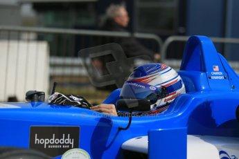 World © Octane Photographic Ltd. Cooper Tyres British Formula 3 (F3). Rockingham - Qualifying, Sunday 4th May 2014. Dallara F308 Mercedes HWA – Camren Kaminsky - Double R Racing. Digital Ref : 0920lb1d1496