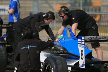 Formula 3 (F3). Rockingham - Qualifying, Sunday 4th May 2014.  Dallara F312 Mercedes HWA – Andy Chang - Double R Racing. Digital Ref : 0920lb1d1510