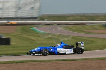 World © Octane Photographic Ltd. Cooper Tyres British Formula 3 (F3). Rockingham - Qualifying, Sunday 4th May 2014. Dallara F308 Mercedes HWA – Camren Kaminsky - Double R Racing. Digital Ref :
