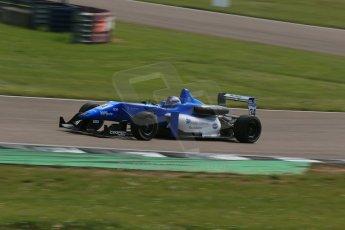 World © Octane Photographic Ltd. Cooper Tyres British Formula 3 (F3). Rockingham - Qualifying, Sunday 4th May 2014. Dallara F308 Mercedes HWA – Camren Kaminsky - Double R Racing. Digital Ref : 0920lb1d1640