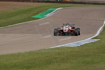 World © Octane Photographic Ltd. Cooper Tyres British Formula 3 (F3). Rockingham - Qualifying, Sunday 4th May 2014. Dallara F312 Mercedes HWA – Matt Rao - Fortec Motorsports. Digital Ref : 0920lb1d1683