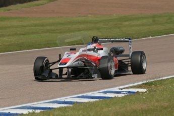 World © Octane Photographic Ltd. Cooper Tyres British Formula 3 (F3). Rockingham - Qualifying, Sunday 4th May 2014. Dallara F312 Mercedes HWA – Matt Rao - Fortec Motorsports. Digital Ref : 0920lb1d1719