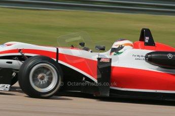 World © Octane Photographic Ltd. Cooper Tyres British Formula 3 (F3). Rockingham - Qualifying, Sunday 4th May 2014. Dallara F312 Mercedes HWA – Matt Rao - Fortec Motorsports. Digital Ref : 0920lb1d1798