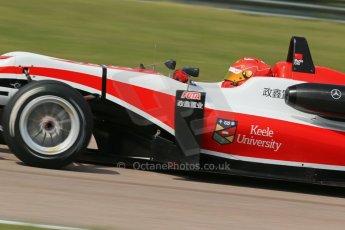 "World © Octane Photographic Ltd. Cooper Tyres British Formula 3 (F3). Rockingham - Qualifying, Sunday 4th May 2014. Dallara F312 Mercedes HWA - Hong Wei ""Martin"" Cao - Fortec Motorsports. Digital Ref : 0920lb1d1807"