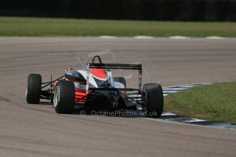 "World © Octane Photographic Ltd. Cooper Tyres British Formula 3 (F3). Rockingham - Qualifying, Sunday 4th May 2014. Dallara F312 Mercedes HWA - Hong Wei ""Martin"" Cao - Fortec Motorsports. Digital Ref : 0920lb1d1875"