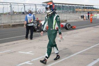 World © Octane Photographic Ltd. Friday 4th July 2014. GP2 Qualifying Session – British GP - Silverstone - UK. Alexander Rossi - EQ8 Caterham Racing. Digital Ref : 1014JM1D1101