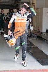 World © Octane Photographic Ltd. Friday 4th July 2014. GP2 Qualifying Session –British GP - Silverstone - UK. Daniel Abt - Hilmer Motorsport. Digital Ref: 1014JM1D1122
