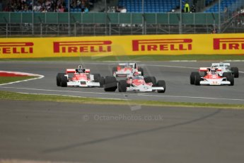 World © Octane Photographic Ltd. Saturday 5th July 2014. British GP, Silverstone, UK. - Formula 1. 50 years of Legends display laps. Digital Ref: 1025LB1D0126