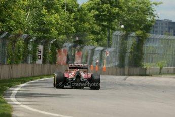 World © Octane Photographic Ltd. Friday 6th June 2014. Canada - Circuit Gilles Villeneuve, Montreal. Formula 1 Practice 2. Scuderia Ferrari F14T – Kimi Raikkonen. Digital Ref: 0979LB1D4387