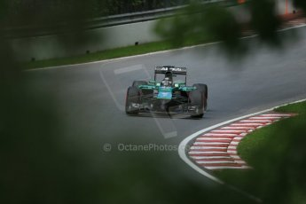 World © Octane Photographic Ltd. Friday 6th June 2014. Canada - Circuit Gilles Villeneuve, Montreal. Formula 1 Practice 2. Caterham F1 Team CT05 – Kamui Kobayashi. Digital Ref: 0979LB1D4828