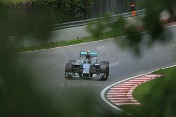 World © Octane Photographic Ltd. Friday 6th June 2014. Canada - Circuit Gilles Villeneuve, Montreal. Formula 1 Practice 2. Mercedes AMG Petronas F1 W05 Hybrid - Nico Rosberg. Digital Ref: 0979LB1D4872