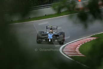 World © Octane Photographic Ltd. Friday 6th June 2014. Canada - Circuit Gilles Villeneuve, Montreal. Formula 1 Practice 2. McLaren Mercedes MP4/29 – Kevin Magnussen. Digital Ref: 0979LB1D4890