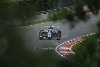 World © Octane Photographic Ltd. Friday 6th June 2014. Canada - Circuit Gilles Villeneuve, Montreal. Formula 1 Practice 2. Mercedes AMG Petronas F1 W05 Hybrid – Lewis Hamilton. Digital Ref: 0979LB1D4949