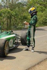 World © Octane Photographic Ltd. Friday 6th June 2014. Canada - Circuit Gilles Villeneuve, Montreal. Formula 1 Practice 2. Caterham F1 Team CT05 – Marcus Ericsson pulls off at turn 3. Digital Ref: 0979LB1D9489