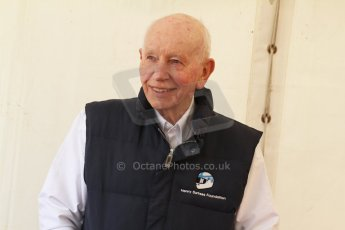 World © Octane Photographic Ltd. Donington Historic Festival, May 4th 2014. John Surtees OBE. Digital Ref : 0918cb7d8550