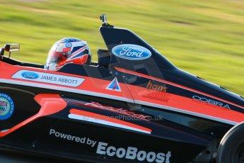 World © Octane Photographic Ltd. Donington Park general unsilenced test day, 13th February 2014. British Formula Ford - James Abbott. Digital Ref : 0891cb1d2492