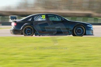 World © Octane Photographic Ltd. Donington Park general unsilenced test day, 13th February 2014. Rob Austin Racing Audi A4 NGTC. Digital Ref : 0891cb1d2588