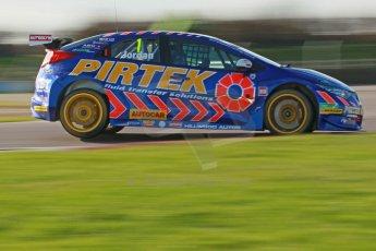 World © Octane Photographic Ltd. Donington Park general unsilenced test day, 13th February 2014. Pirtek Racing (Eurotech) Honda Civic NGTC - Andy Jordan. Digital Ref : 0891cb1d2626