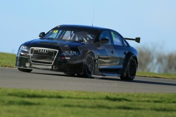 World © Octane Photographic Ltd. Donington Park general unsilenced test day, 13th February 2014. Rob Austin Racing Audi A4 NGTC. Digital Ref : 0891cb1d3936