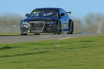 World © Octane Photographic Ltd. Donington Park general unsilenced test day, 13th February 2014. Rob Austin Racing Audi A4 NGTC. Digital Ref : 0891cb1d4035