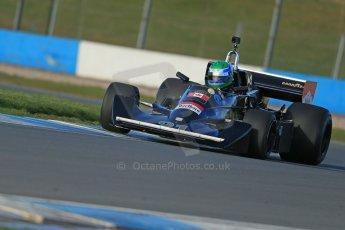World © Octane Photographic Ltd. Donington Park general unsilenced test day, 13th February 2014. FIA Historic Formula 1 (F1) Championship. Ex-Jackie Ickx Wolf Williams FW05. Digital Ref : 0891cb1d4196