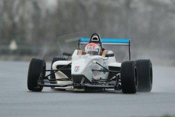 World © Octane Photographic Ltd. 18th February 2014 – Donington Park general unsilenced testing. BRDC Formula 4, MSV F4-13, Chris Middlehurst – MGR Motorsport. Digital Ref : 0892cb1d2664