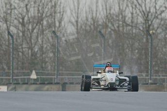 World © Octane Photographic Ltd. 18th February 2014 – Donington Park general unsilenced testing. BRDC Formula 4, MSV F4-13, Chris Middlehurst – MGR Motorsport. Digital Ref : 0892cb1d2692