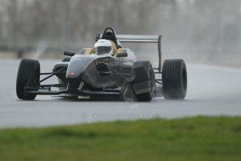 World © Octane Photographic Ltd. 18th February 2014 – Donington Park general unsilenced testing. BRDC Formula 4, MSV F4-13, David Wagner – MGR Motorsport. Digital Ref : 0892cb1d2702