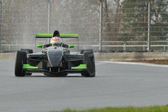World © Octane Photographic Ltd. 18th February 2014 – Donington Park general unsilenced testing. Protyre Formula Renault BARC -  Tarun Reddy  – MGR Motorsport. Digital Ref : 0892cb1d2757