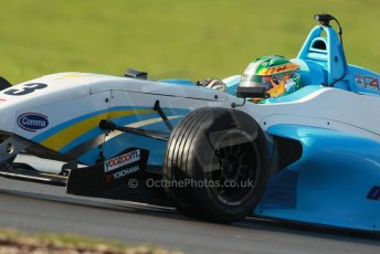 World © Octane Photographic Ltd. 18th February 2014 – Donington Park general unsilenced testing. BRDC Formula 4, MSV F4-13, Charlie Eastwood – Douglas Motorsport. Digital Ref : 0892cb1d2935