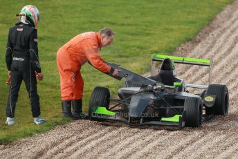 World © Octane Photographic Ltd. 18th February 2014 – Donington Park general unsilenced testing. Protyre Formula Renault BARC -  Tarun Reddy  – MGR Motorsport. Digital Ref : 0892cb1d2996