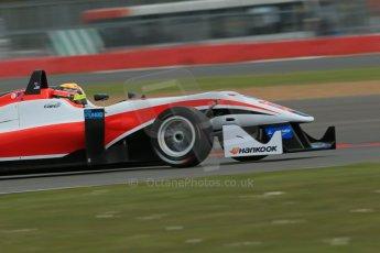World © Octane Photographic Ltd. FIA European F3 Championship, Silverstone, UK, April 18th 2014 - Qualifying sessions. Fortec Motorsports – Mercedes. Dallara F312 – Mitch Gilbert. Digital Ref : 0908lb1d6369