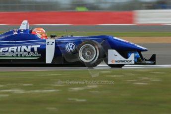 World © Octane Photographic Ltd. FIA European F3 Championship, Silverstone, UK, April 18th 2014 - Qualifying sessions. Fortec Motorsports – Mercedes – John Bryant-Meisner. Digital Ref : 0908lb1d6407