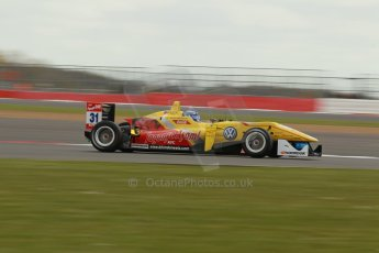 World © Octane Photographic Ltd. FIA European F3 Championship, Silverstone, UK, April 19th 2014 - Race 1. Jagonya Ayam with Carlin – Dallara F312 Volkswagen – Tom Blomqvist. Digital Ref : 0909lb1d1211