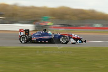World © Octane Photographic Ltd. FIA European F3 Championship, Silverstone, UK, April 19th 2014 - Race 1. Team West-Tec F3 – Dallara F312 Mercedes – Felix Serralles. Digital Ref : 0909lb1d1223