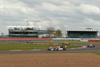 World © Octane Photographic Ltd. FIA European F3 Championship, Silverstone, UK, April 19th 2014 - Race 2. Prema Powerteam - Dallara F312 Mercedes – Nicholas Latifi. Digital Ref : 0910lb1d1271