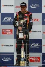World © Octane Photographic Ltd. FIA European F3 Championship, Silverstone, UK, April 19th 2014 - Race 2. Prema Powerteam - Dallara F312 Mercedes – Esteban Ocon. Digital Ref : 0910lb1d1473