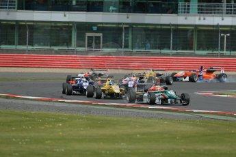 World © Octane Photographic Ltd. FIA European F3 Championship, Silverstone, UK, April 19th 2014 - Race 2. Prema Powerteam - Dallara F312 Mercedes – Antonio Fuoco. Digital Ref : 0910lb1d7173