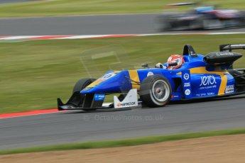 World © Octane Photographic Ltd. FIA European F3 Championship, Silverstone, UK, April 19th 2014 - Race 2. Fortec Motorsports – Mercedes – John Bryant-Meisner. Digital Ref : 0910lb1d7390